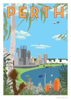 Perth maps and orientation: perth, western australia - wa, australia Posters Australia, Australia Map, Australia Living, Thailand Travel, Asia Travel, Croatia Travel, Bangkok Thailand, Hawaii Travel, Italy Travel