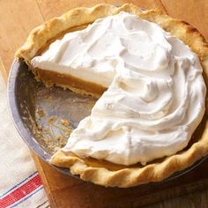 True Butterscotch Pie...this was a big, no make that HUGE hit at my house!