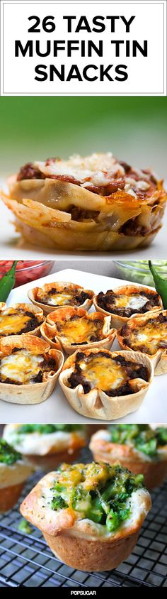 26 Meals You Can Make in a Muffin Tin — your kids will love them!