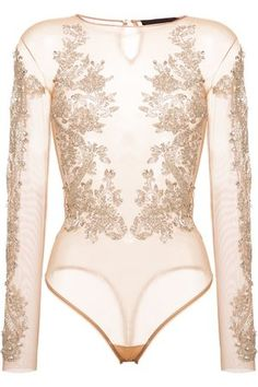 Uplift your figure in style with the bodysuits edit at Farfetch. Find the best women's leotards around from this luxe lingerie bodysuit edit. Sheer Bodysuit, Bodysuit Lingerie, Sheer Lingerie, Stage Outfits, Fashion Outfits, Womens Fashion, Bustiers, Embellished Bodysuit, Fashion Clothes