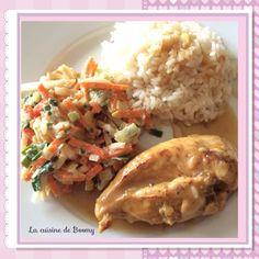Escalopes de poulet à la cancoillotte WW ( Cookeo )