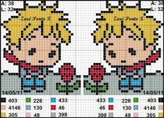 pattern the little prince cross stitch