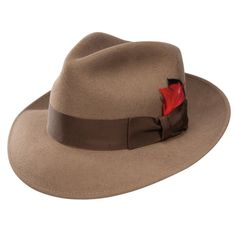 Take a look at our Stetson Gurnee - Wool Fedora Hat made by Stetson Dress Hats as well as other fedora hats here at Hatcountry. Mens Dress Hats, Men Dress, Best Hats For Men, Mens Cowboy Hats, Hat Men, Women Hats, Gentleman Hat, Casual Slip On Shoes, Stylish Hats