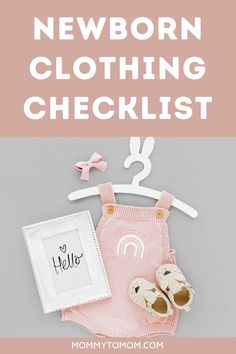 If you're trying to figure out what clothing you should buy for your newborn, this post has all of the information you need! #newborn #newbornessentials #newbornclothes #babyclothing #newmom #newmomtips #newmomadvice #pregnancy Newborn Clothes Checklist, Newborn Essentials, Baby Shower Registry, Baby Shower Gifts, Baby Tips, Baby Hacks, Advice For New Moms, Pregnancy Guide, Newborn Care