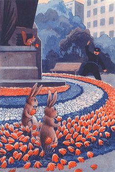 Rudolf Koivu (and the Helsinki city rabbits)