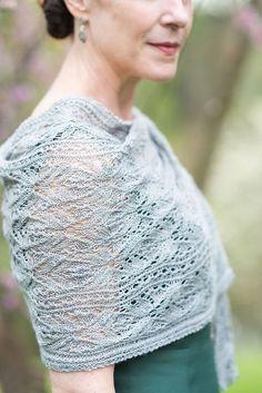 Ravelry: Murron Shawl pattern by Jennifer Wood