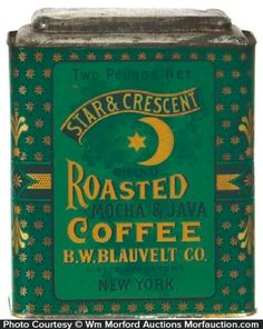 Antique Advertising | Star & Crescent Coffeee - Star & Crescent Coffeee…