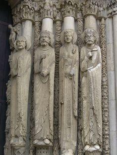 Cathédrale Notre-Dame, Chartres, France.