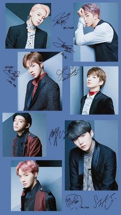 Because any official BTS fan page has to be signed by BTS themselves, right?