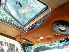 Van Interior, Interior Ideas, Old School Vans, Panel Truck, Custom Vans, Truck Bed, Bed Ideas, Lifted Trucks, Camping Ideas