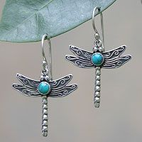 Blue Dragonfly from @NOVICA, They help #artisans succeed worldwide.