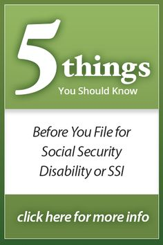 5 things you should know before you file!