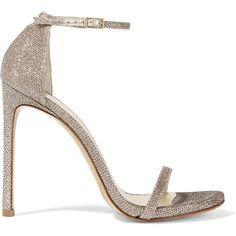 Stuart Weitzman Nudist metallic mesh sandals (6.565 ARS) ❤ liked on Polyvore featuring shoes, sandals, heels, high heels, sapatos, platinum, metallic heel sandals, high heel sandals, polka dot sandals and stuart weitzman shoes