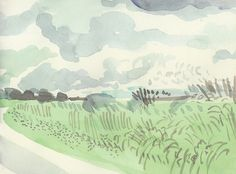 David Hockney - Yorkshire 3