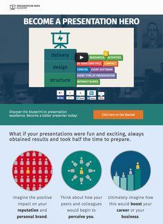 Presentation Hero Academy: save the world from bad presentations http://preshero.co/