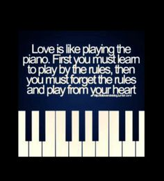That's #LOVE Alright!  I Couldn't Play By Your Rules. . .I Always Played From My #Heart!