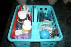 Great idea for organizing med cabinet
