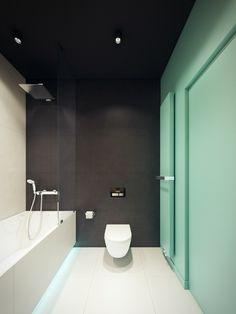 La salle de bains et les toilettes