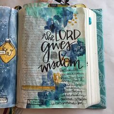 Proverbs For the Lord gives wisdom; from his mouth come knowledge and understanding. by stephmiddaugh Bible Art, Bible Verses, Scriptures, Journal Quotes, Bible Journal, He Reads Truth, Beautiful Verses, Worship God, Bible Prayers