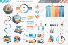 @newkoko2020 Infographic Elements (v3) by Infographic Paradise on @creativemarket #infographic #infographics #bundle #design #template #megabundle #bigbundle #presentation #vector #business #layout #creative #graph #information #visualization