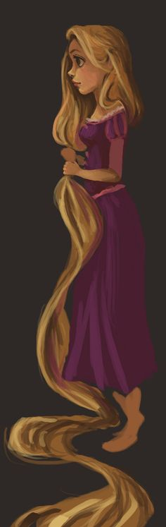 Day 17- Rapunzel by *Mags-Pi on deviantART