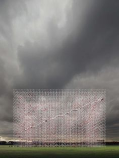 Reveal the absence, the un-built by Guillaume Mazars Architecture Architecture Drawings, Facade Architecture, Landscape Architecture, Conceptual Architecture, Constructivism, Scaffolding, To Infinity And Beyond, Land Art, Public Art