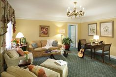 Executive Suite - The Hermitage Hotel, Nashville, Tennessee