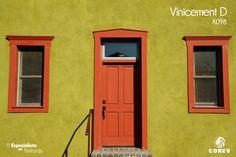 El que sea un clásico no significa que pase de moda. Renueva tu fachada, ya es tiempo de darle un toque diferente a tu decoración.  www.corev.mx