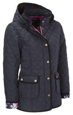 Vedoneire - Womens Quilted Jacket (5038) Navy, £84.99  #Vedoneire #Fashion #Womenswear #Ireland #Irish #Irishbrands #SS14 #Apparel (http://www.vedoneire.co.uk/womens-quilted-jacket-5038-navy/)
