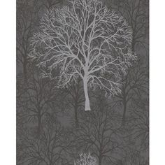 Graham & Brown - Enchant in Black Wallpaper - 60011 - Home Depot Canada