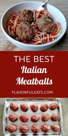 Italian Sausage Meatballs, Ground Beef Meatballs, Best Meatballs, Jelly Meatballs, Spicy Meatballs, Italian Recipes, Beef Recipes, Cooking Recipes, Ground Italian Sausage Recipes
