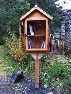 Nia, Teo, Regan, Ben Shelton-Brooks. Girdwood, AK. Our Little Free Library is located in the wonderful, fun, and creative town of Girdwood, Alaska. Come visit us and read, read, read!