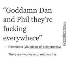 dan and phil cartoon - Google Search, yeah but you can't escape the phandom either