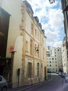 Rue des Gobelins. paris 13eme.