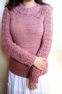 I have a crush on this sweater.  Bloomsbury by Svetlana Volkova via @Sandy Cobaugh #knitting