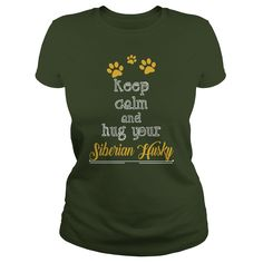 Do you love your Siberian Husky? This t-shirts, hoodies for you and your friends!