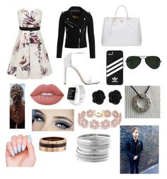 """""""Untitled #103"""" by kelleybolger ❤ liked on Polyvore featuring Little Mistress, Superdry, Prada, adidas, Ray-Ban, Lime Crime, BaubleBar, Cartier and Avenue"""