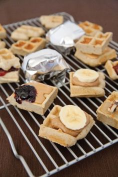 Pre workout waffled