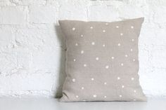 dotted cushion at Hello Milky - Etsy