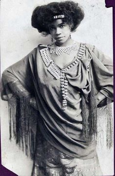 Aida Overton Walker was an African-American singer, actress, dancer, and choreographer that broke down barriers.