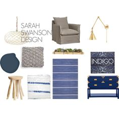 """INDIGO"" by sarahswansondesign on Polyvore"