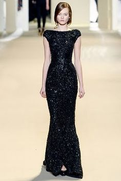 Elie Saab Fall 2011 Runway - Elie Saab Ready-To-Wear Collection Elegant Dresses, Pretty Dresses, Women's Dresses, Formal Dresses, Elie Saab, Beautiful Gowns, Beautiful Outfits, Gorgeous Gorgeous, Absolutely Stunning