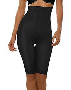 Hanes Plus Size High-waist Thigh Slimmers Shapers Black & Nude & 2 Pack) (Xx-large, Black & Nude) Women's Briefs, Lingerie Collection, Shapewear, Women Lingerie, Thighs, Plus Size, Stylish, Black, Image Link