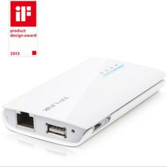 TP LINK TL-MR11U Portable 2000mAh Battery Powered 3G - 33$