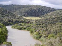 The Bushman's River on Shamwari Game Reserve.