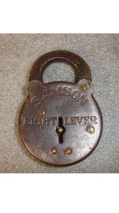 Lock Under Lock And Key, Key Lock, Safe Lock, Padlocks, Copper, Brass, Antique Doors, Door Knobs, Keys
