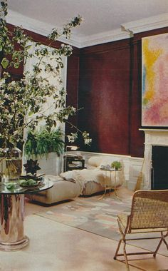 Stanley Barrows -  1978: Contemporary Simplicity, Featured in the September 1978 issue of House Beautiful
