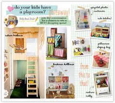 Cool ideas for creative kids rooms