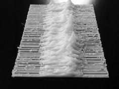 La copertina di Unknown pleasure dei Joy Division stampata in 3D | Rivista Studio