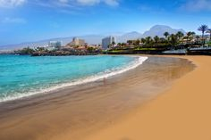 Las Americas Beach, Costa Adeje, Tenerife, Canary Islands, Spain